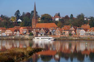 Lauenburg an der Elbe, November 2019