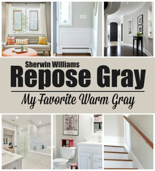 Paint Colors Repose Gray By Sherwin Williams Wife In Progress