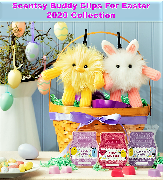 Scentsy Buddy Clips For Easter 2020 Collection