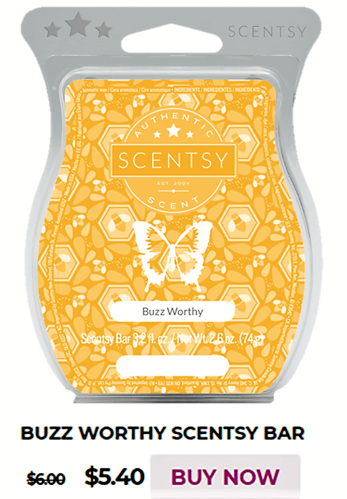Scentsy Warmer Of The Month Kindness & Buzz Worthy Scent for May 2020