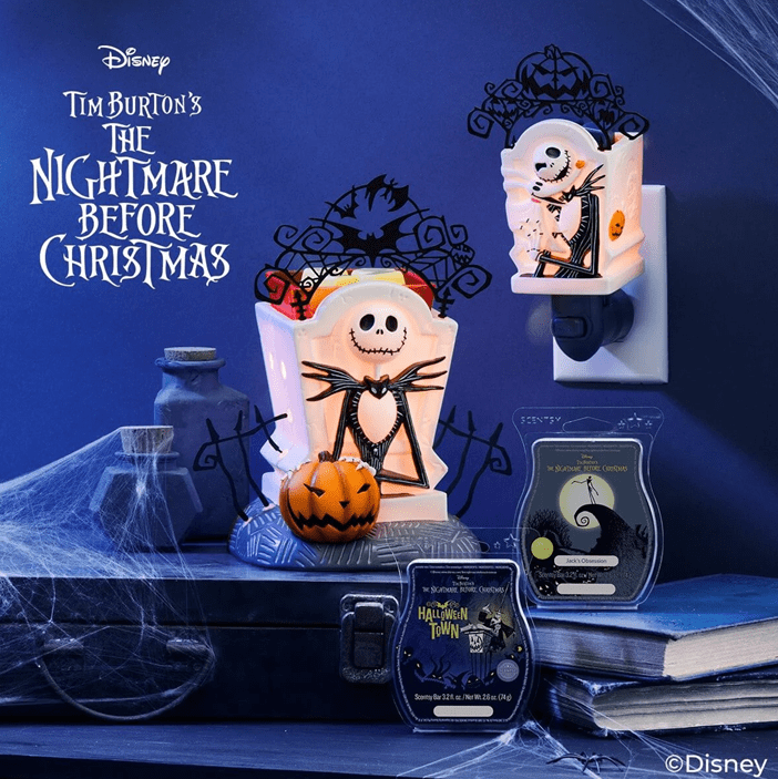 Scentsy Disney The Nightmare Before Christmas 2020 Harvest Collection