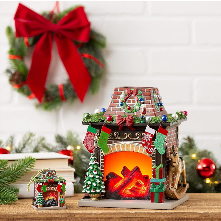 2020 Limited Edition Scentsy New Holiday Hearth Scentsy Warmer
