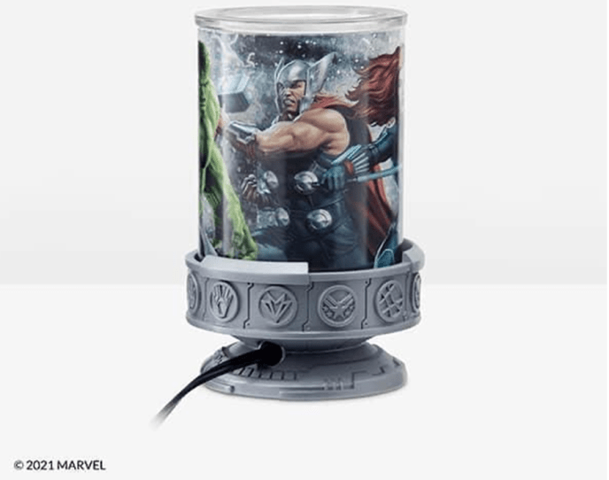 Marvel Scentsy Warmer for Spring Summer Catalog 2021