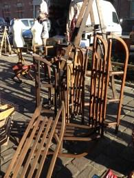 Sledges, Tongeren antiques market