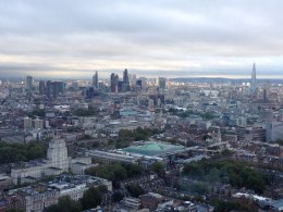 View of London from BT Tower