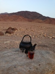 Tea & hospitality in the desert