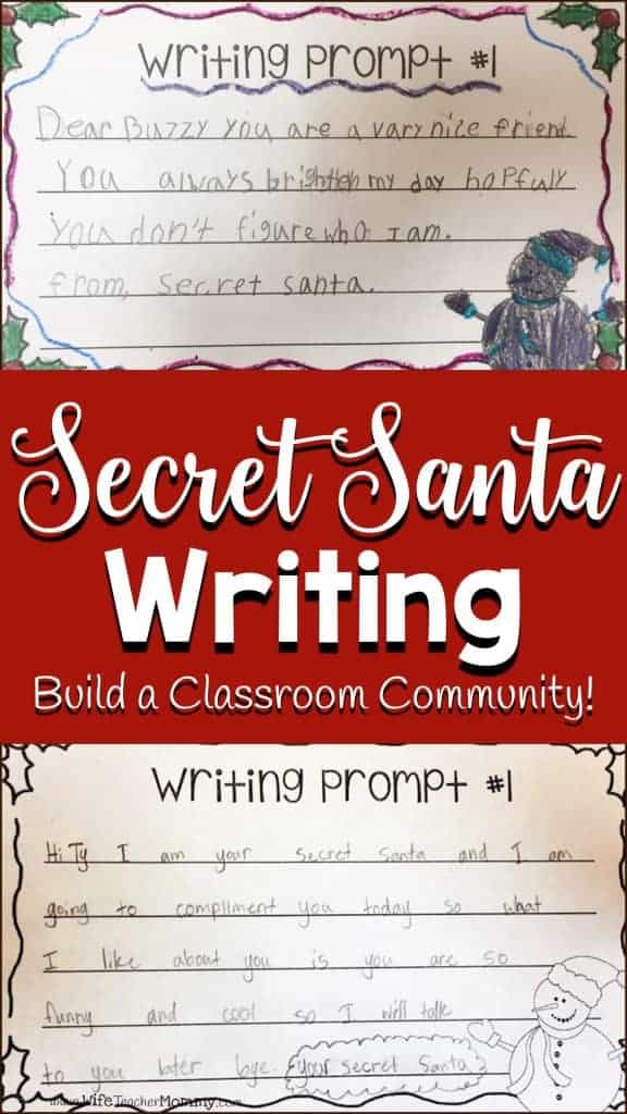 Secret Santa Writer's Workshop