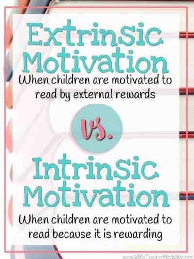 Extrinsic vs Intrinsic Motivation