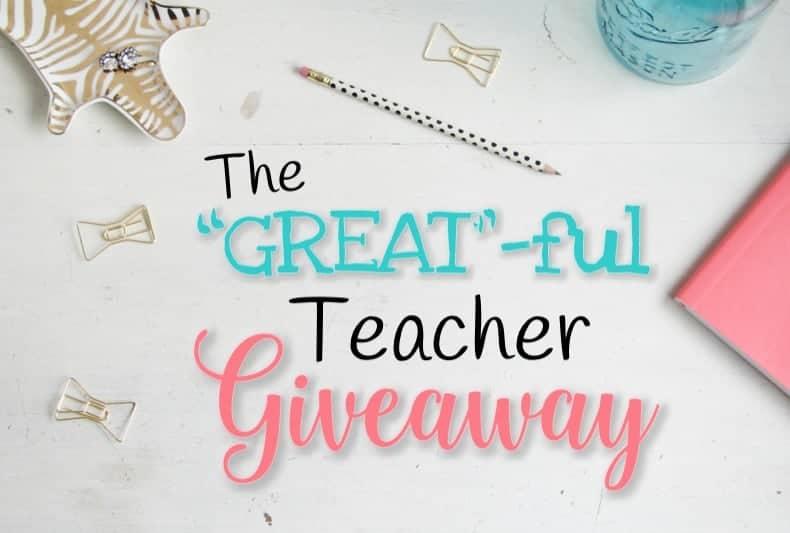 Huge Teacher Giveaway