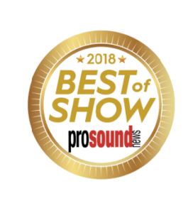 Pro Audio Group Best of Show Award winner at InfoComm