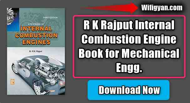 R K Rajput Internal Combustion Engine Book for Mechanical