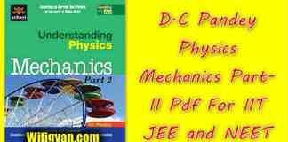 dc pandey mechanics part 1 pdf book free download Archives