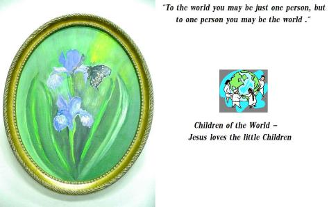 Children of the World - Jesus loves the little Children
