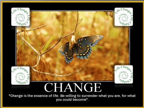 Change be willing