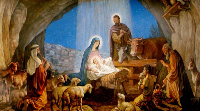 The Birth Of Jesus..