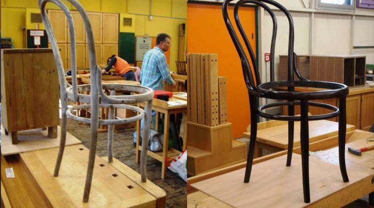 Wie restauriert man einen Thonet-Stuhl