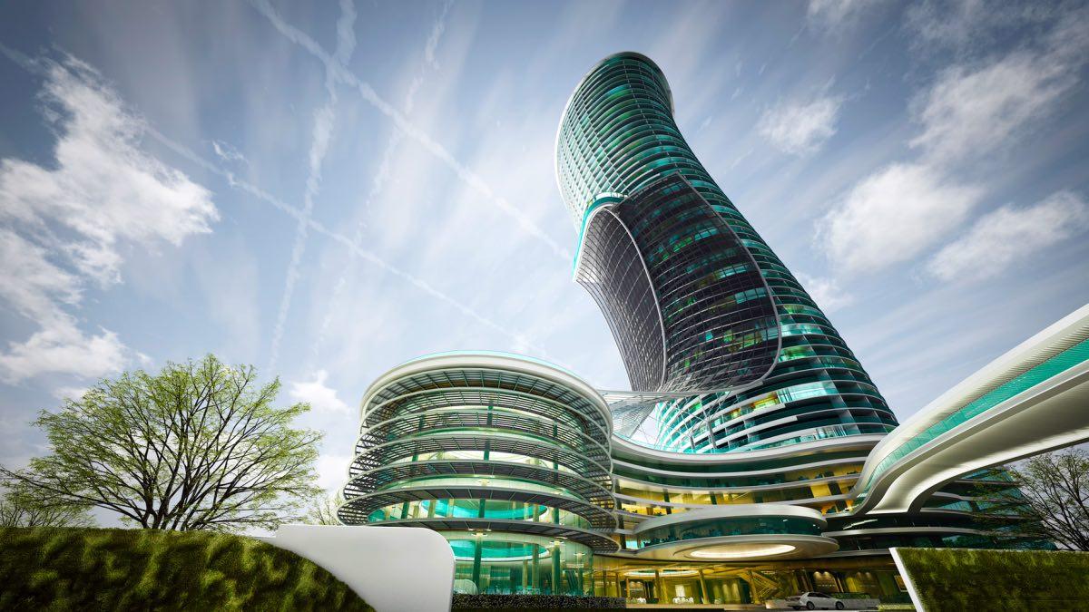 So sehen die Hotels der Zukunft aus!