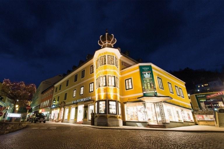 Kaufhaus Arzberger von außen