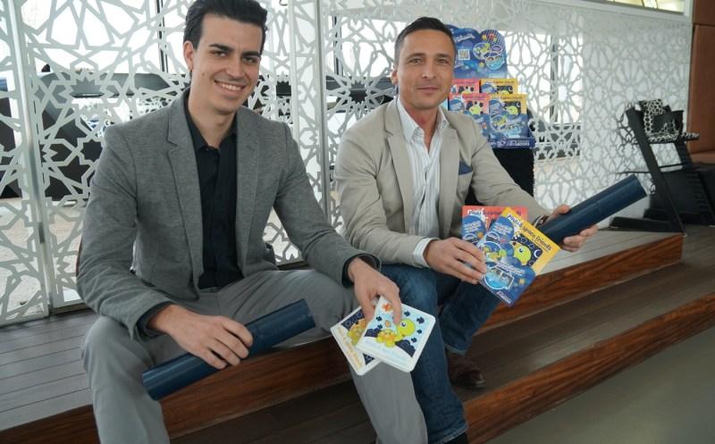 Thomas Tschebul und Marco Paul haben gemeinsam ein Unternehmen gegründet.