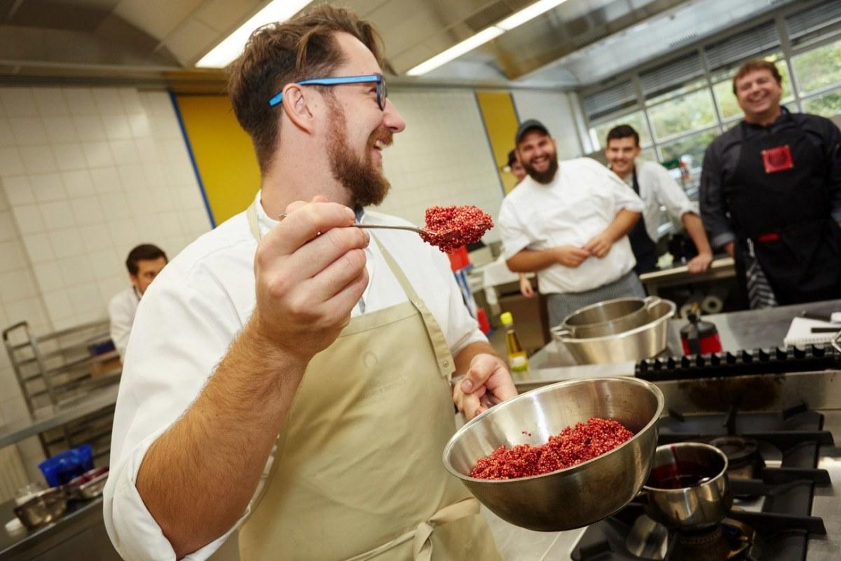 Zu Gast bei den Küchenmeistern - ein junger Wilder sieht rot!