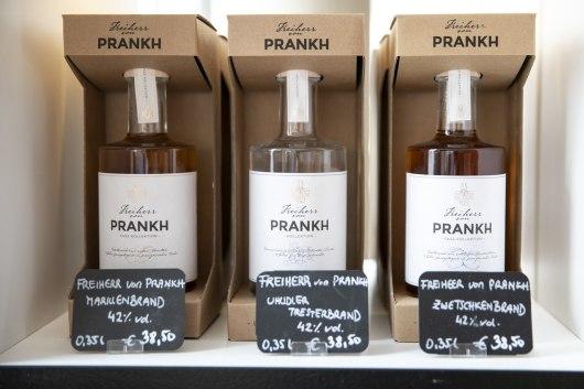 Namensgeber für diese edle Spirituose ist der Freiherr von Prankh.