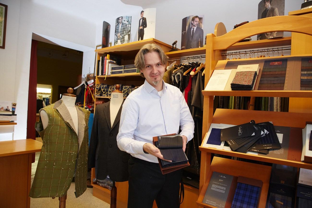 Herrenschneider – ein traditioneller Beruf sucht Nachwuchs