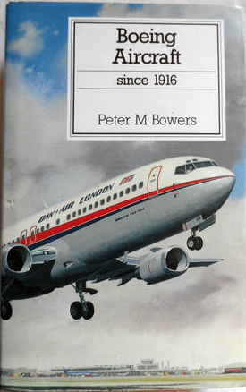 Putnam 'Boeing Aircraft since 1916 ' 1993 edition.