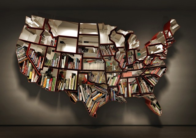 USA Bookshelf by Ron Arad