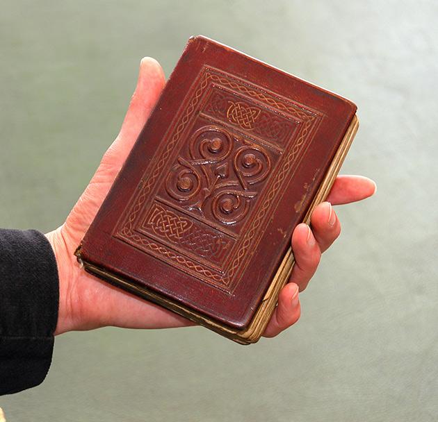 St Cuthbert Gospel, the 1315 year old book