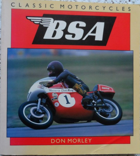 BSA (Classic Motorcycles) by Don Morley