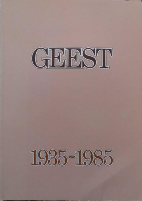 Geest 1935-1985 By Roy Stemman