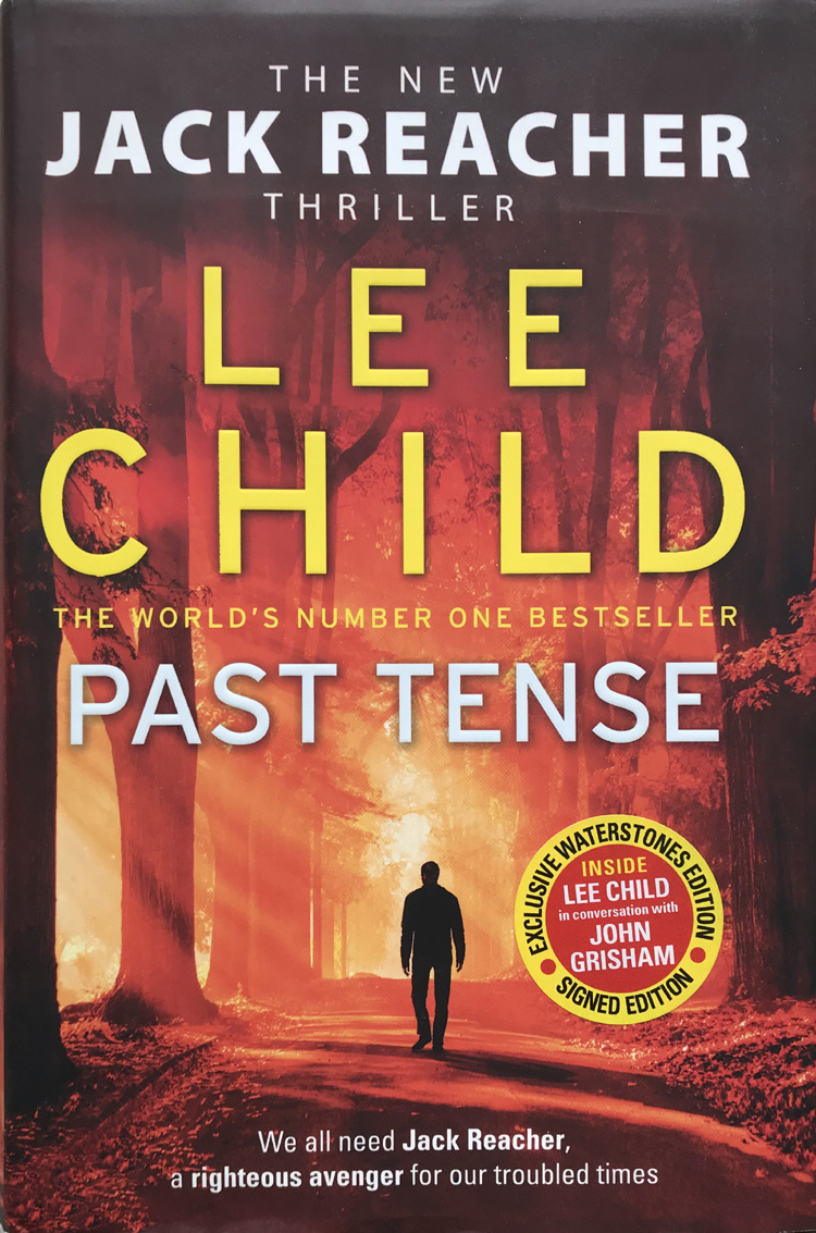 Past Tense By Lee Child - Signed First Edition