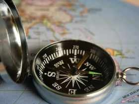 Cara Baca Kompas