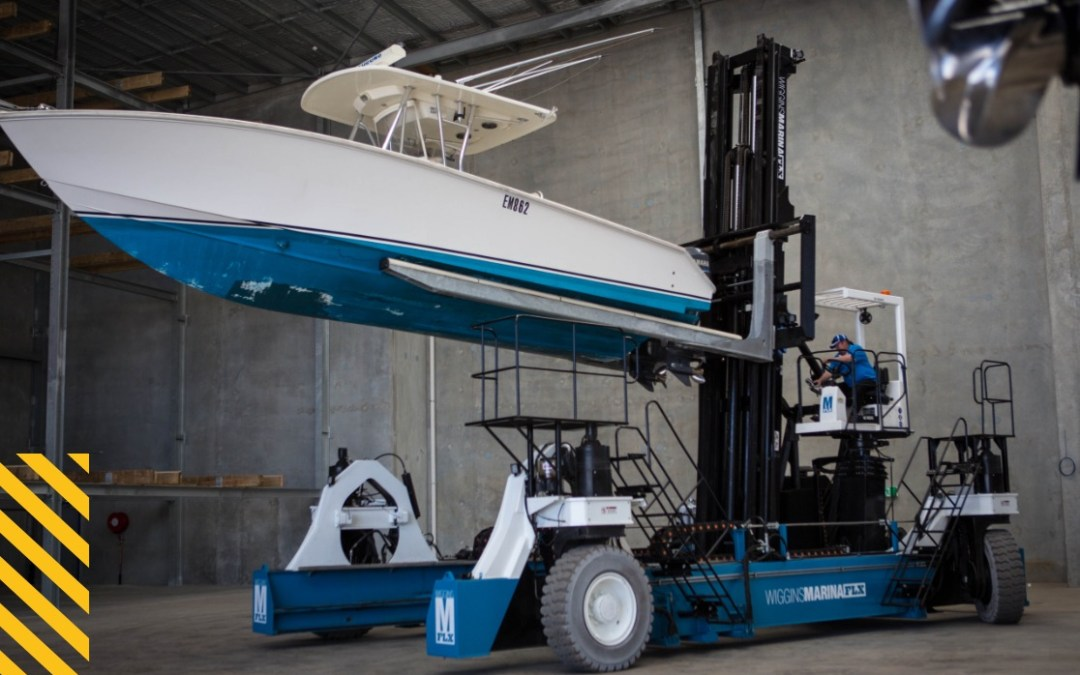 The Wiggins Marina FLX — A revolutionary new approach to marina lifts