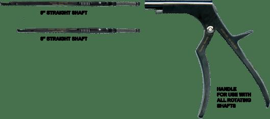 Rotating Shaft Kerrison 40º Up, 14mm Opening