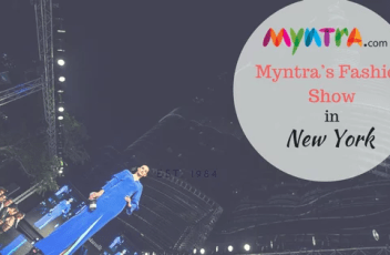 Myntra's Fashion Show