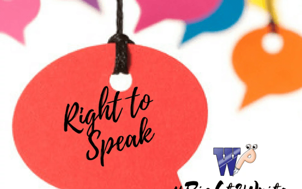 Right to speak- Value it!!