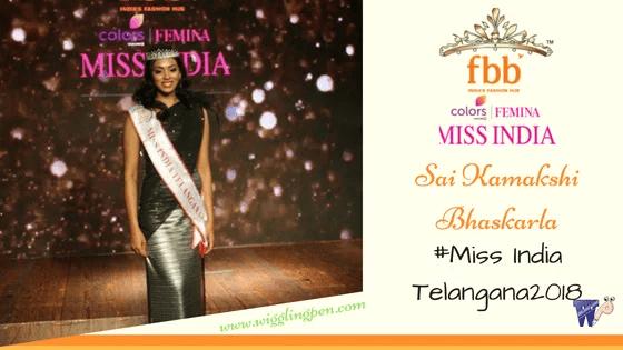 Miss Telangana 2018 – Sai Kamakshi Bhaskarla