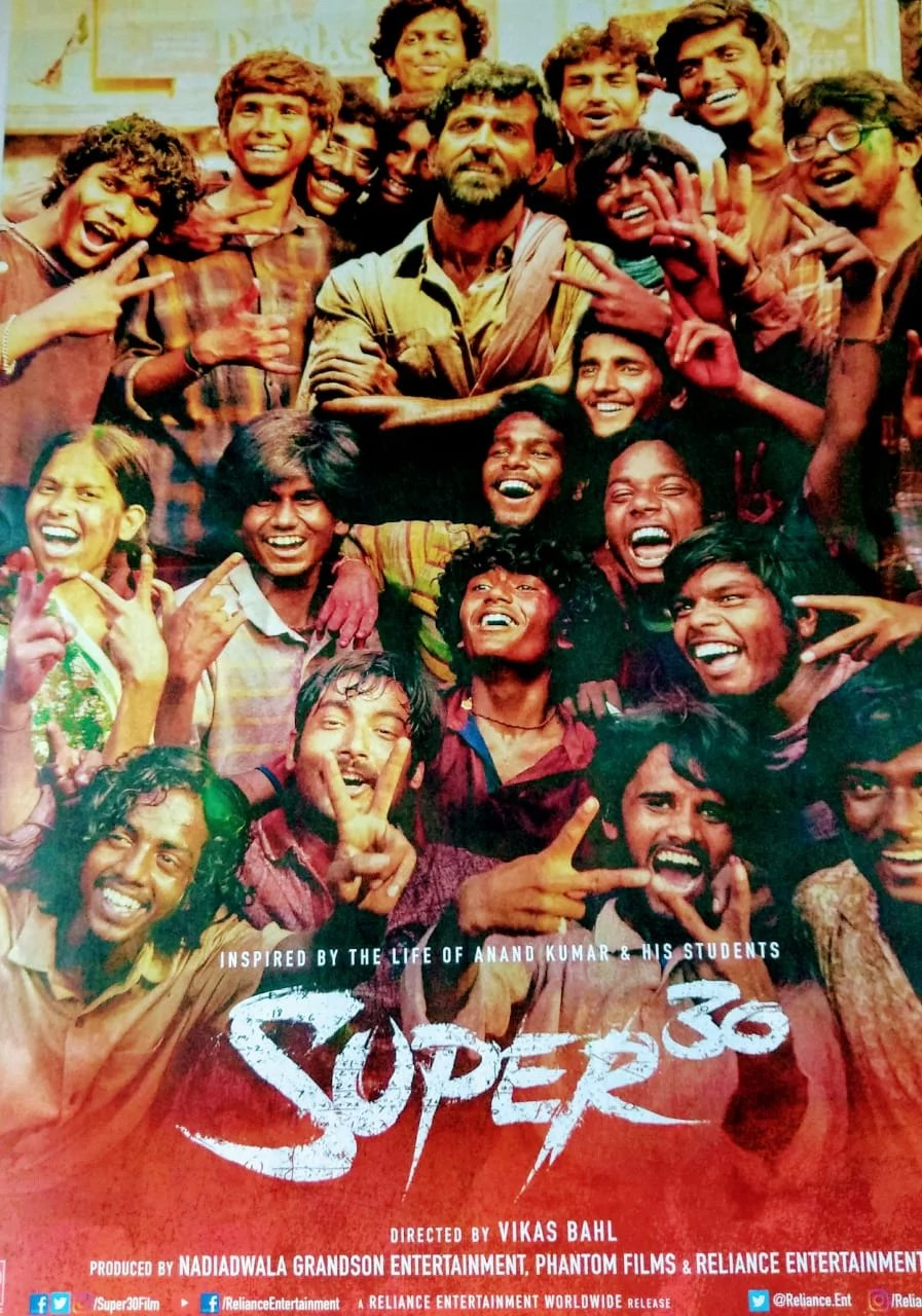 Super 30 – Anand Kumar