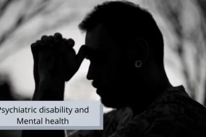 Psychiatric disability