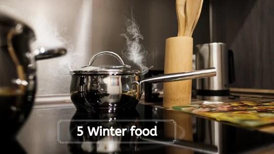 Winter food list