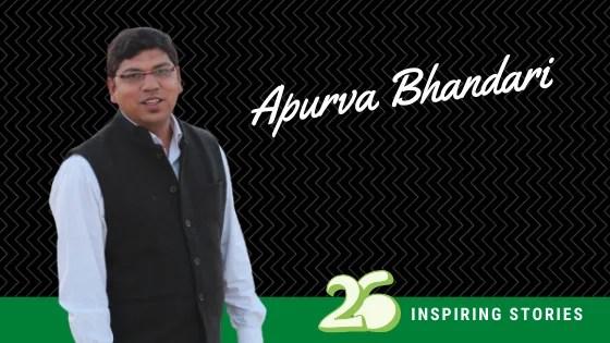 Apurva Bhandari- Making earth green with Sankalp Taru