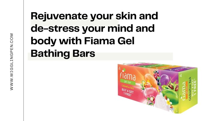 Rejuvenate your skin and de-stress your mind and body with Fiama Gel Bathing Bars!