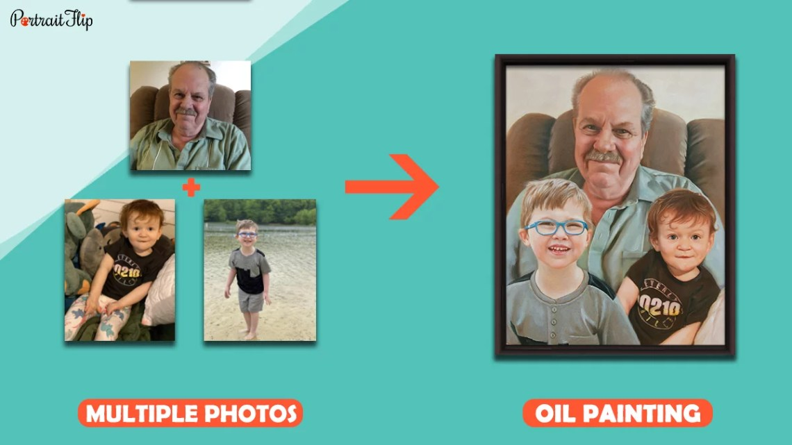 PortraitFlip: Turns Photos Into Handmade Paintings
