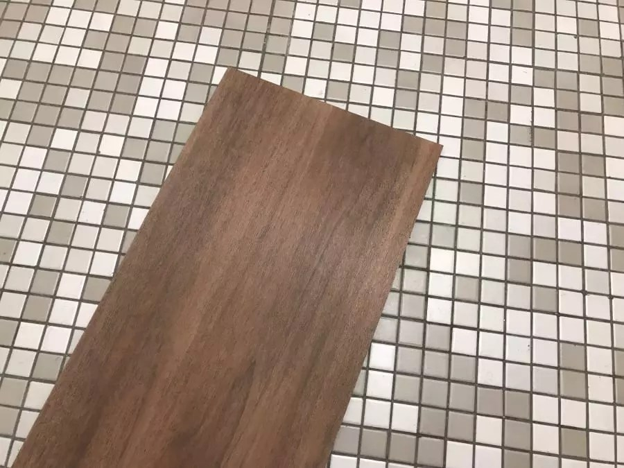 can you put vinyl tile over ceramic