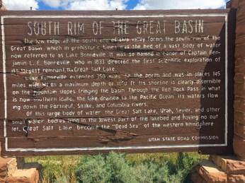 Great Basin sign
