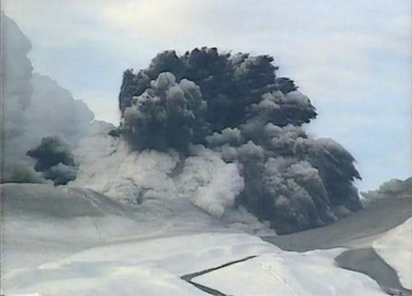 Ruapehu Erupts