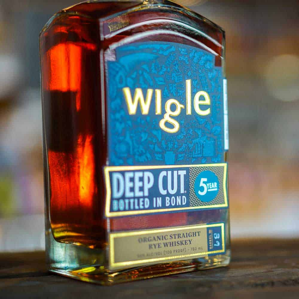 Wigle Deep Cut Bottled in Bond 5 year Old Whiskey