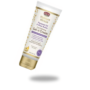 MOISTURE MIRACLE FLAXSEED OIL AND SHEA BUTTER GEL N CREAM