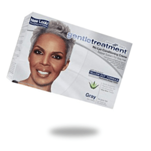 JOHNSON PRODUCTS GENTLE TREATMENT NO-LYECONDITIONING CRÈME RELAXER SYSTEM FOR GREY HAIR